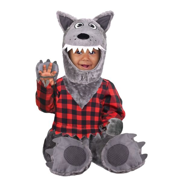 Babies Baby Wolf Costume Fancy Dress Outfit